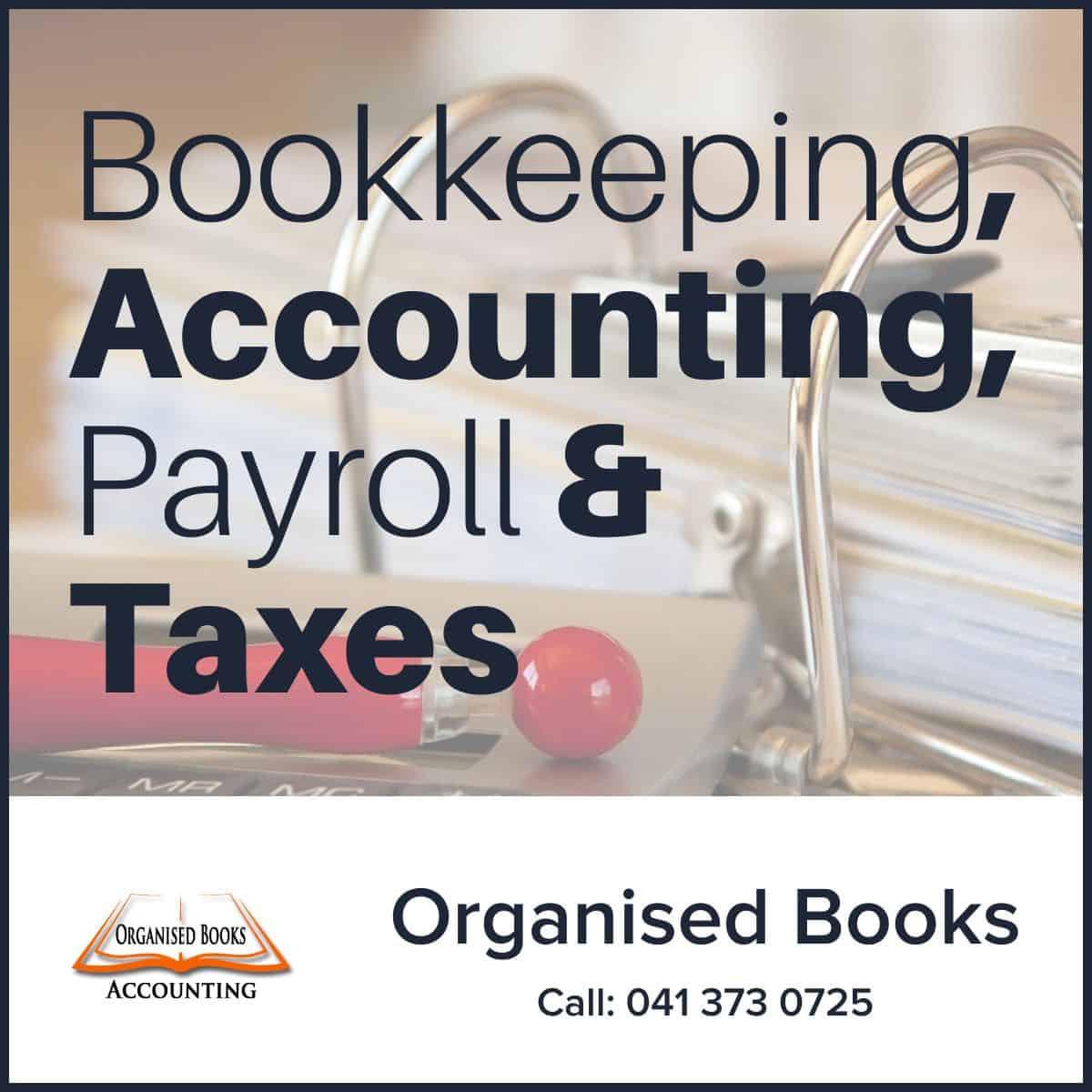 Organised Books